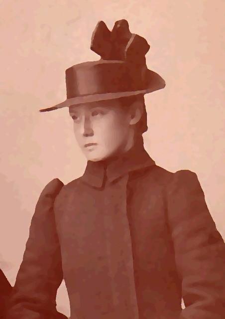 My grandmother, 1891
