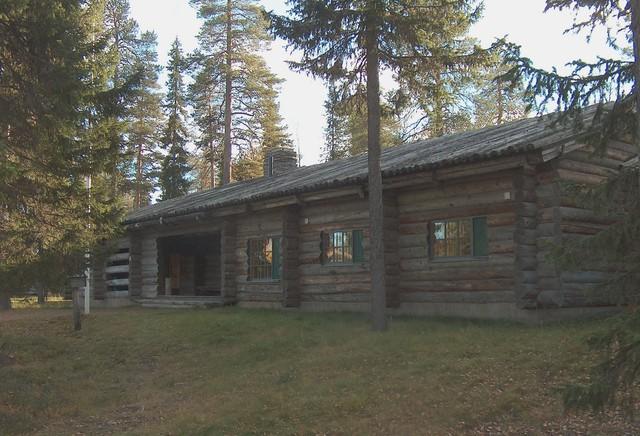 Alkon maja Luosto Sodankylä