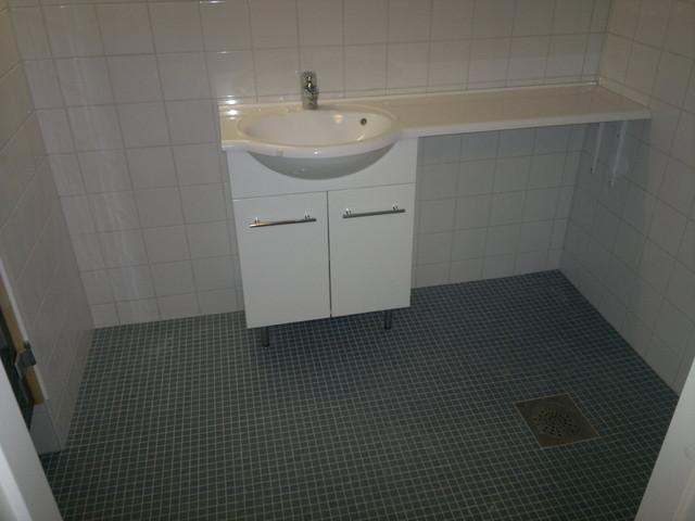 Pesuhuone laatoitus