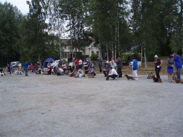 Honkajoen ryhmänäyttely 6.8.2011