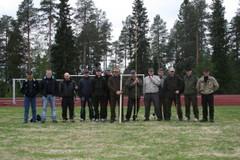 Perhonheittokurssi/ kuva Teppo Turpeinen